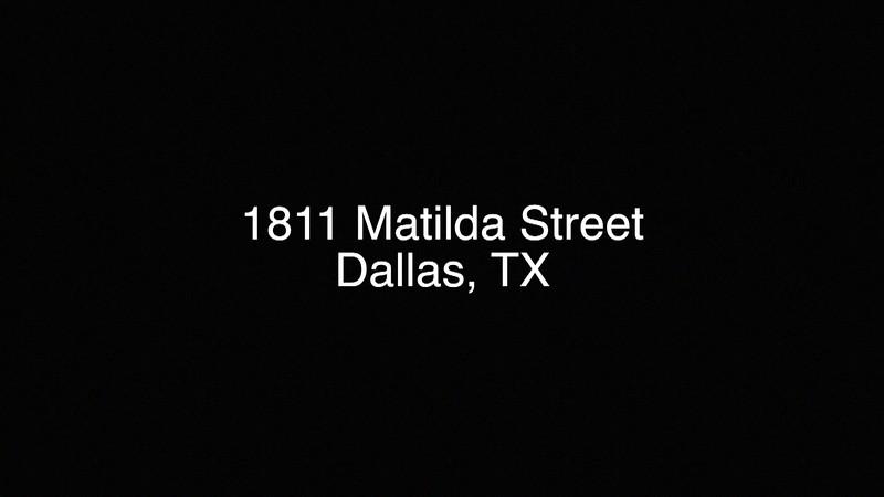 1811 Matilda Drive, Dallas, TX