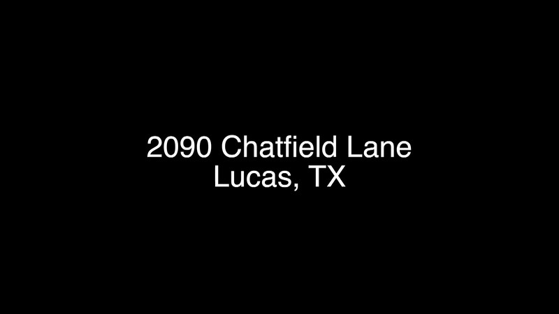 2090 Chatfield Lane - Lucas TX NB