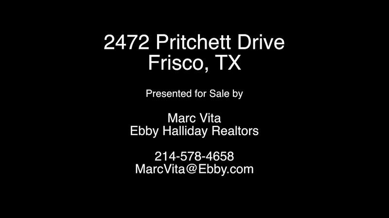 2472 Pritchett Drive, Frisco, TX