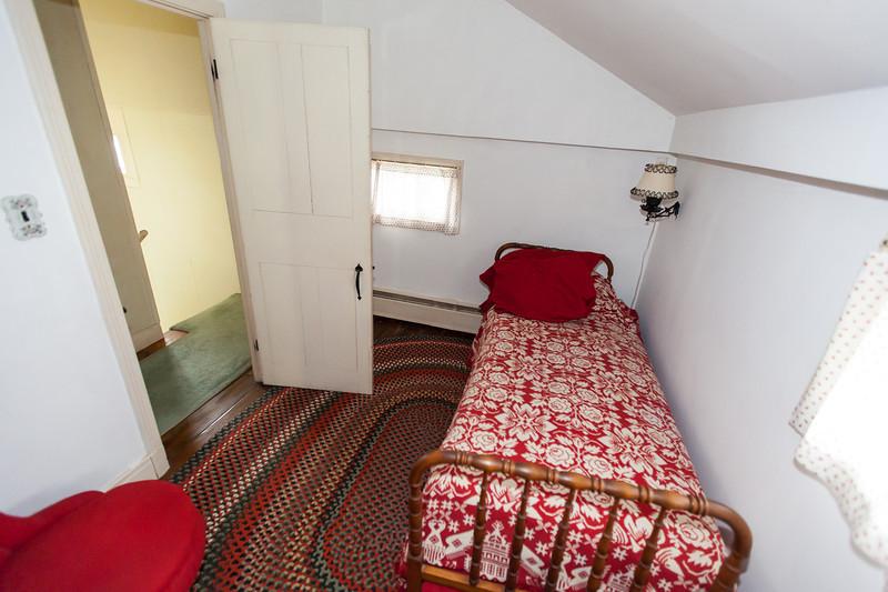 "2nd Floor bedroom #1 -smallest, AKA ""drunk tank"""