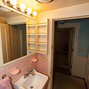 First floor bathroom (looking into bedroom)