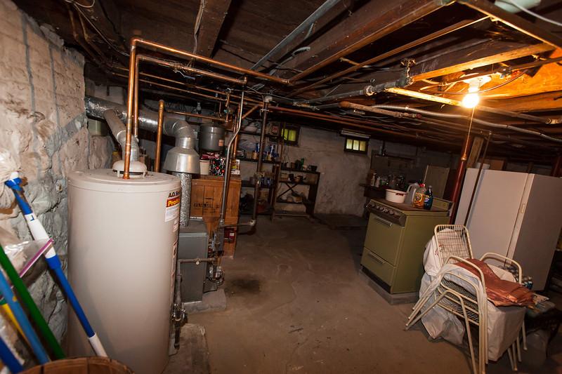 Hot water tank, boiler, working second stove, freezer