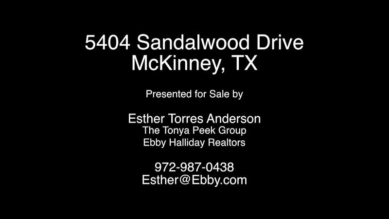 5404 Sandalwood Drive, McKinney, TX