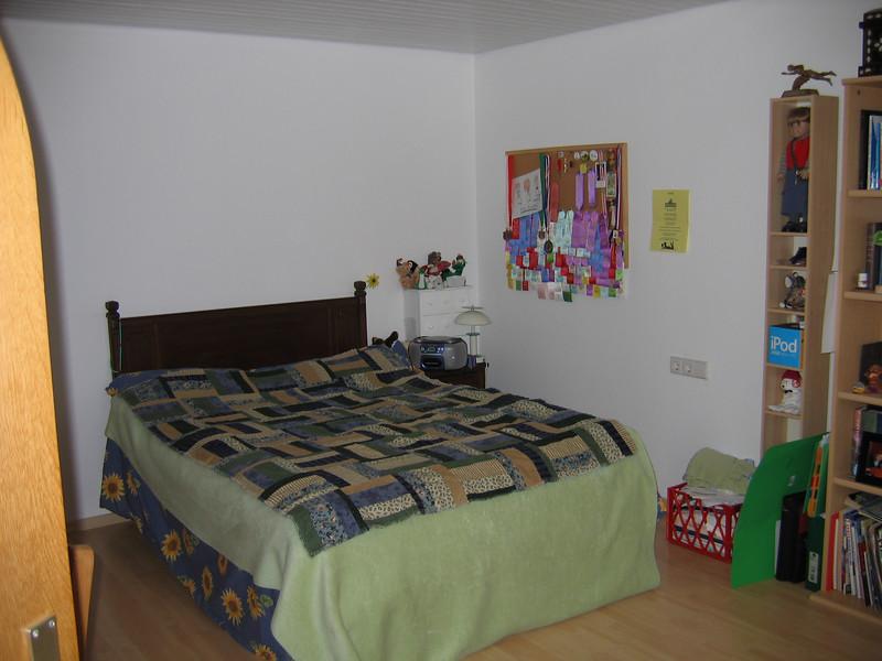 One of the children's bedrooms.  Measures 11 x 16 feet.