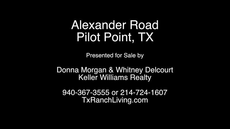 Alexander Road, Pilot Point