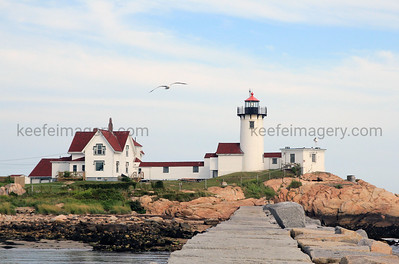 Eastern Point Lighthouse, Gloucester Harbor, MA