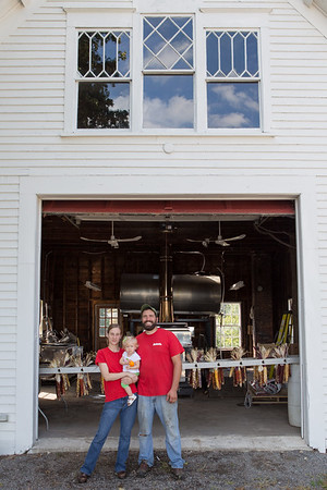 Alison and James Latanzi, Hollis Hills Farm, Fitchburg