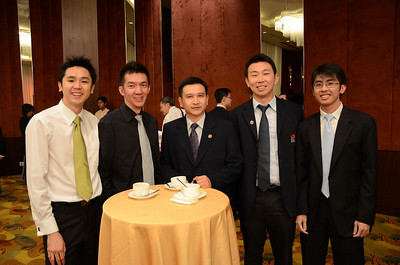 Melvin, Aires, Bryan, Philip and Adrian Yeoh (l-r)