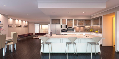 Kitchen 3d Visualisation
