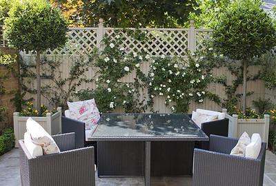 Chiswick courtyard garden