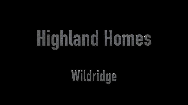 Highland Homes in Wildridge