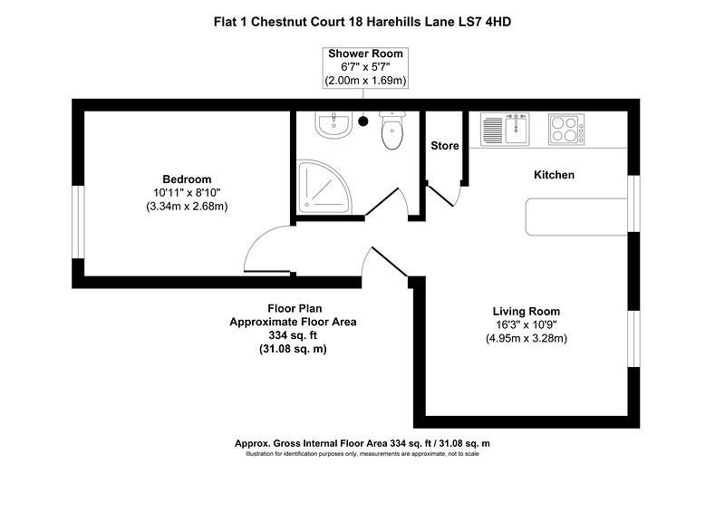 Flat 1 Chestnut Court 18 Harehills