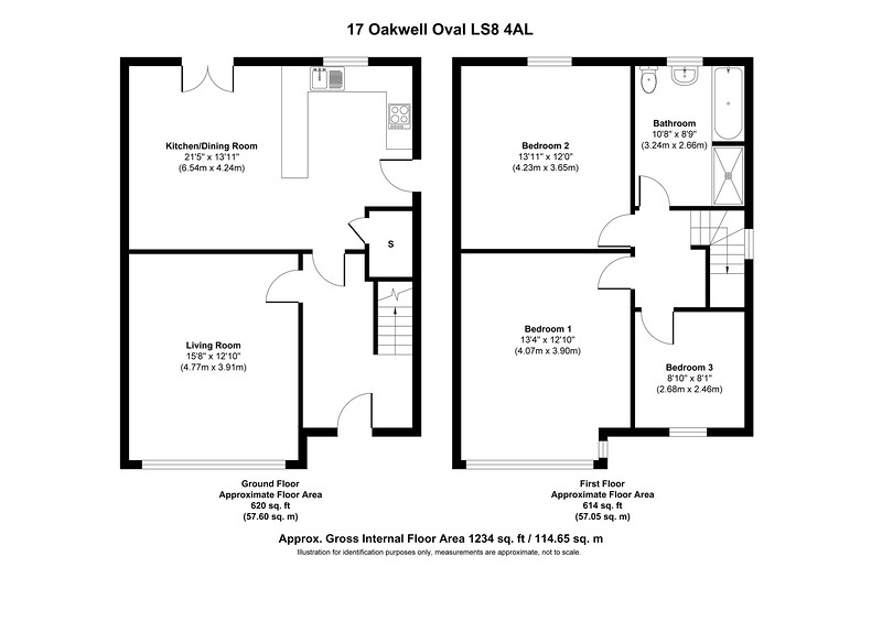 17 Oakwell Oval LS8 4AL