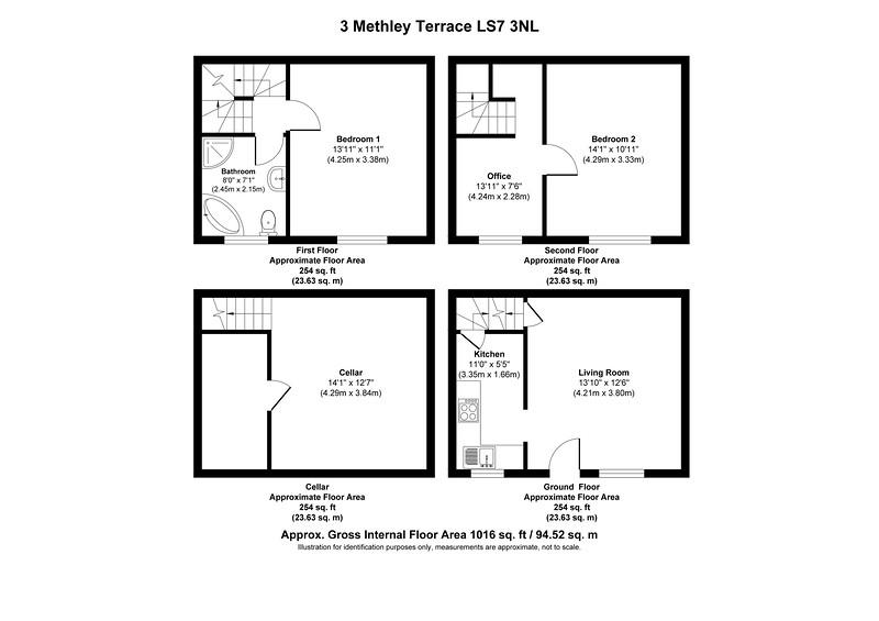 3 Methley Terrace LS7 3NL