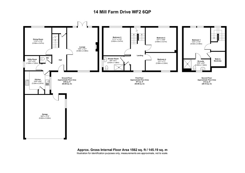 14 Mill Farm Drive WF2 6QP