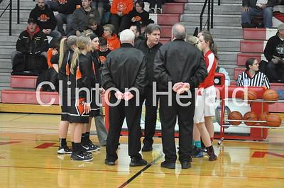 Prophetstown at Oregon girls regional basketball (2-8-16)