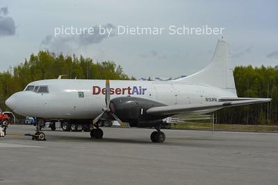 2012-05-21 N153PA Convair 240 Desert Air