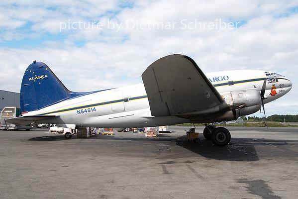 2010-06-18 N54514 Curtiss C46 Everts Air