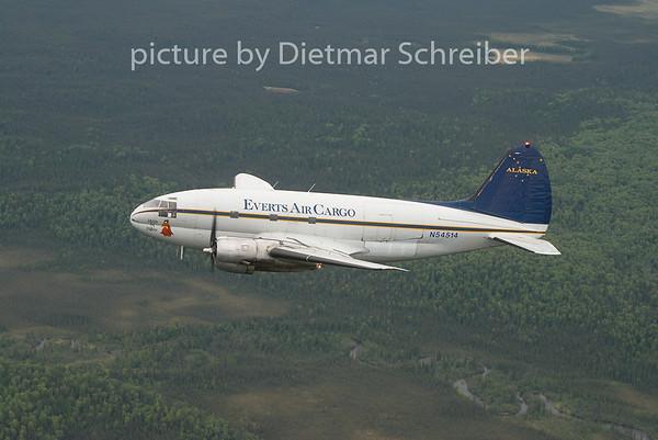 2010-06-17 N54514 Curtiss C46 Everts Air