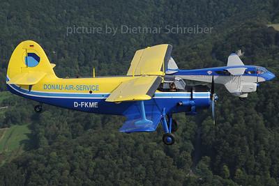 203-09-07 D-FKME Antonov 2 / D-ILIT DH89 Dragon Rapide