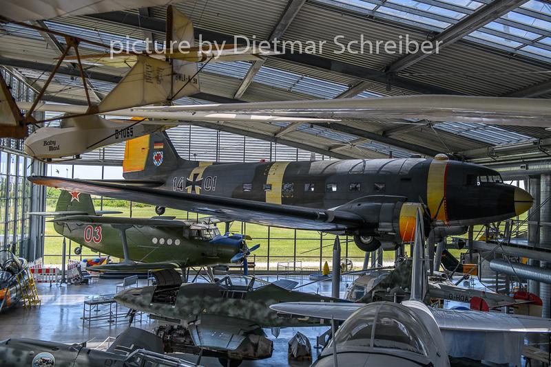 2019-07-05 14+01 Douglas DC3 German Air Force
