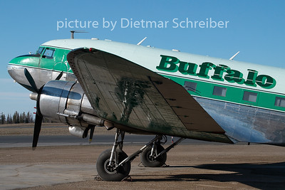 2009-05-31 C-FLFR Douglas DC3 Buffalo AIrways