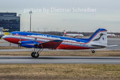 2020-02-19 C-GEAJ Douglas DC3 / BT67