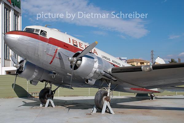 2009-01-10 EC-CPO Douglas DC3 Iberia