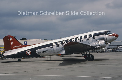 1986-06 G-AMPY Douglas DC-3C (c/n 26569/15124) Air Atlantique