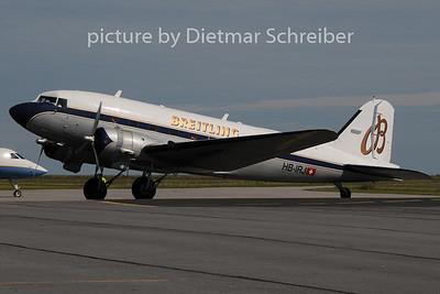 2014-06-06 HB-IRJ Douglas DC3 Breitling