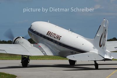 2014-06-05 HB-IRJ Douglas DC3 Breitling