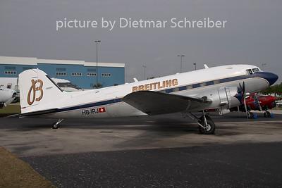 2009-04-06 HB-IRJ Douglas DC3 Breitling