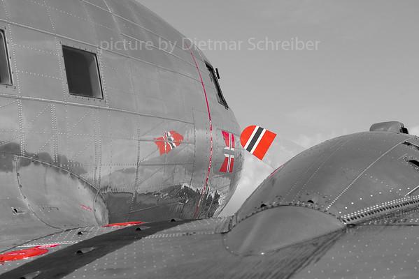 2019-06-05 LN-WND Douglas DC3 Dakota Norway