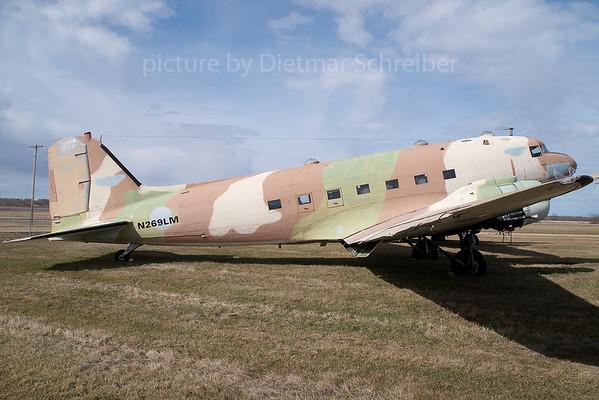 2007-04-27 N269LM Douglas DC3