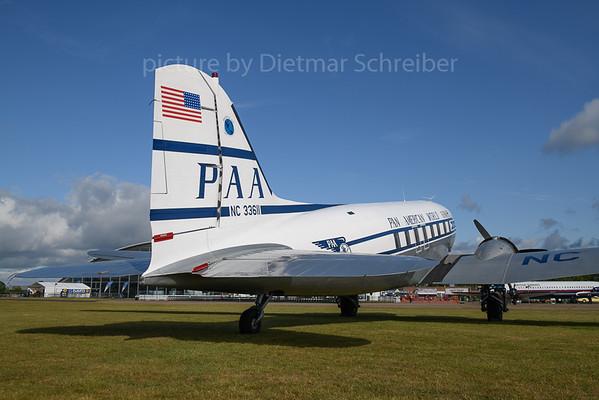 2019-06-05 N33611 Douglas DC3 Pan AMerican
