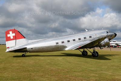 2019-06-05 N431HM Douglas DC3 Swissair
