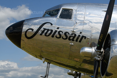 2019-06-03 N431HM Douglas DC3 Swissair