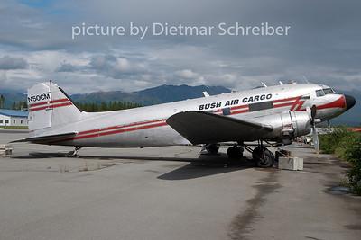 2010-06-18 N50CM Douglas DC3 Bush Air Cargo