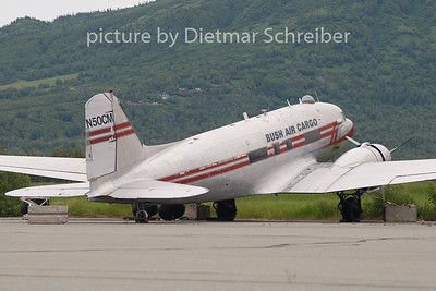 2010-06-15 N50CM Douglas DC3 Bush Air Cargo