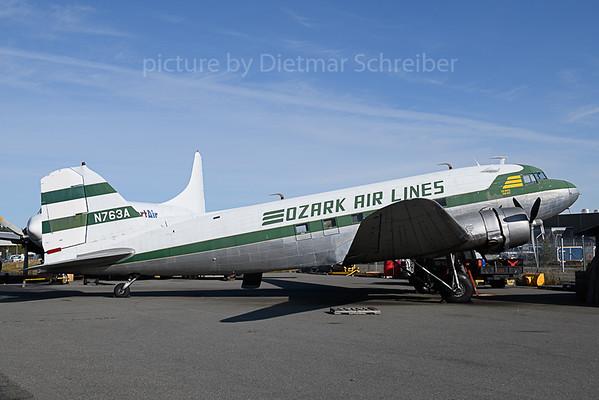 2019-09-23 N763A Douglas DC3