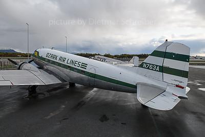 2019-09-25 N763A Douglas DC3