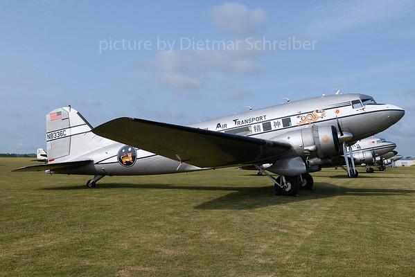 2019-06-03 N8336C Douglas DC3 Civil AIr Transport