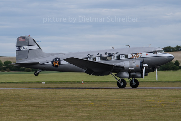 2019-06-02 N8336C Douglas DC3 Civil Air Transport