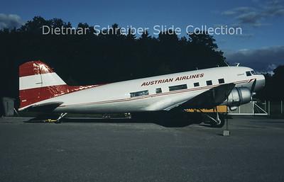 1997-06-15 N86U Douglas DC-3C (c/n 13073) Austrian Dakota Club