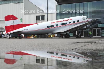 2014-07-05 N86U Douglas DC3