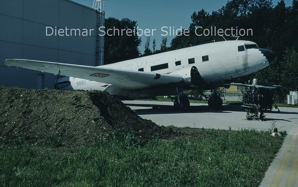 1996-07-13 N86U Douglas DC-3C (c/n 13073) Austrian Dakota Club