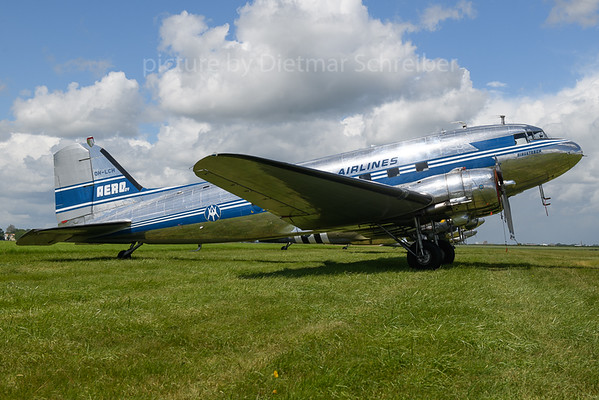 2019-06-08 OH-LCH Douglas DC3 Finish Air Lines