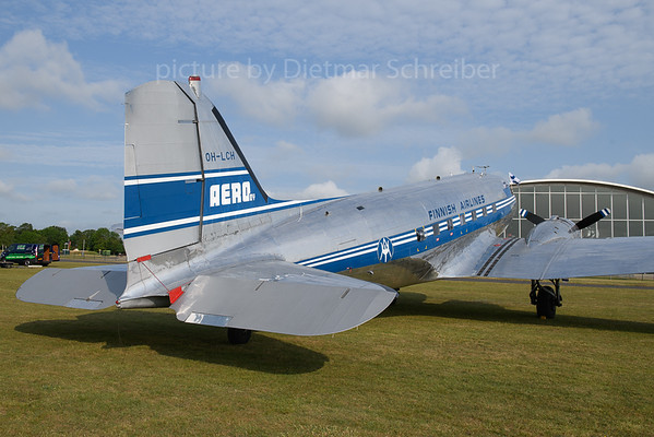 2019-06-03 OH-LCH Douglas DC3 Finnish Air Lines