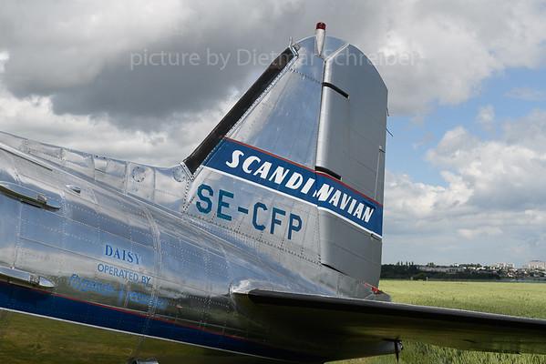 2019-06-08 SE-CFP Douglas DC3 Flying Veterans Sweden (SAS)