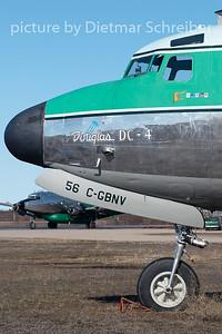 2009-05-28 C-GBNV Douglas DC4 Buffalo Airways